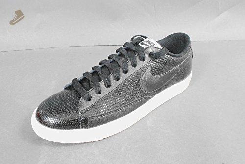 3a48b7868c471 Nike Blazer Low Leather Premium 685239-002 Black/Ash Grey Snakeskin ...
