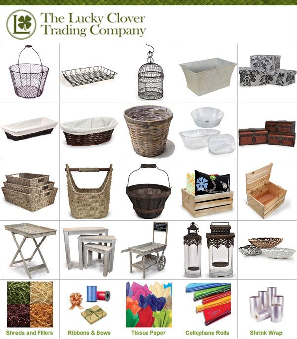 Shop Baskets Etc Great Site For Inexpensive Baskets Wire Woven Canvas Planter Handle Gift Tray Wholesale Craft Supplies