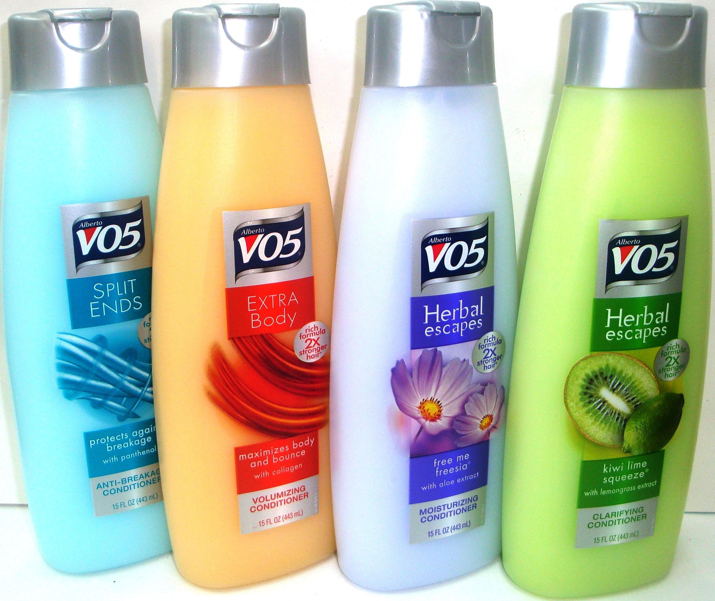 VO5 Conditioner... My CoWash, shaving creme and plus it's