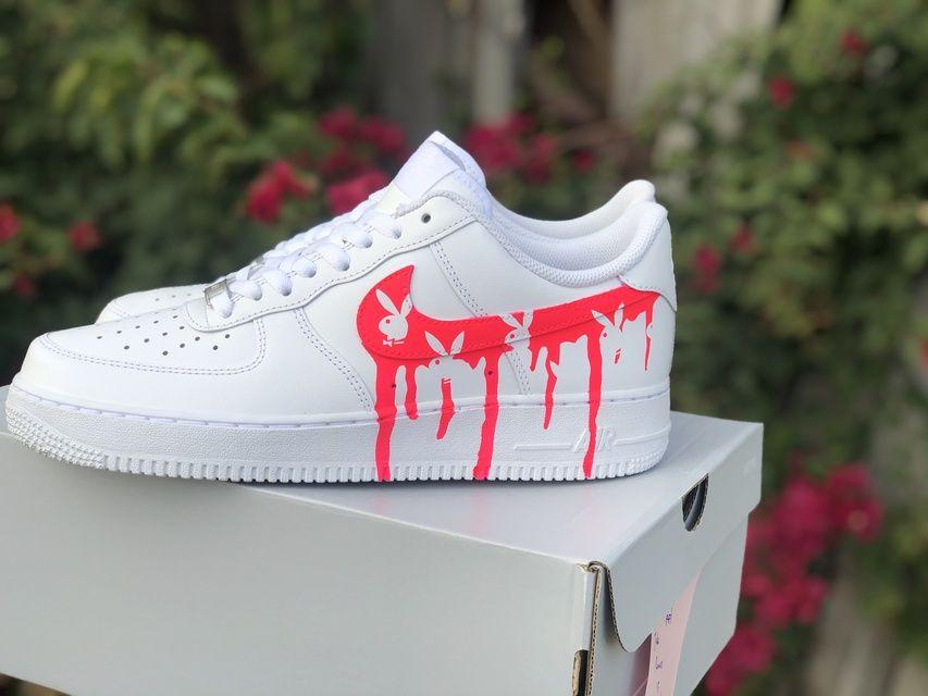 Custom Sneaker By custom.drip in 2020 | Nike shoes air force