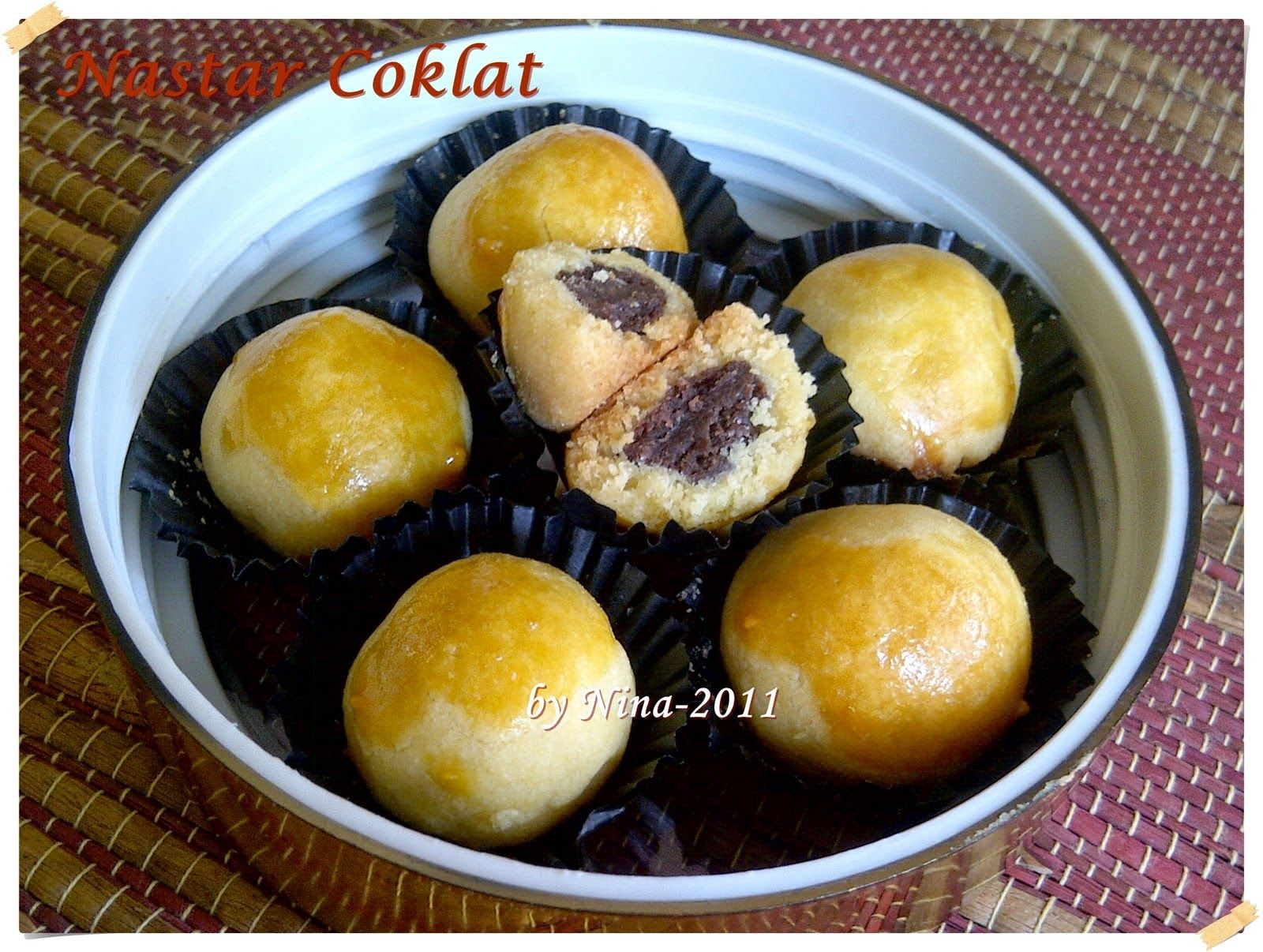 Resep Kue Kering Nastar Coklat Enak Dan Mudah Resep Kue Makanan Kue Kering