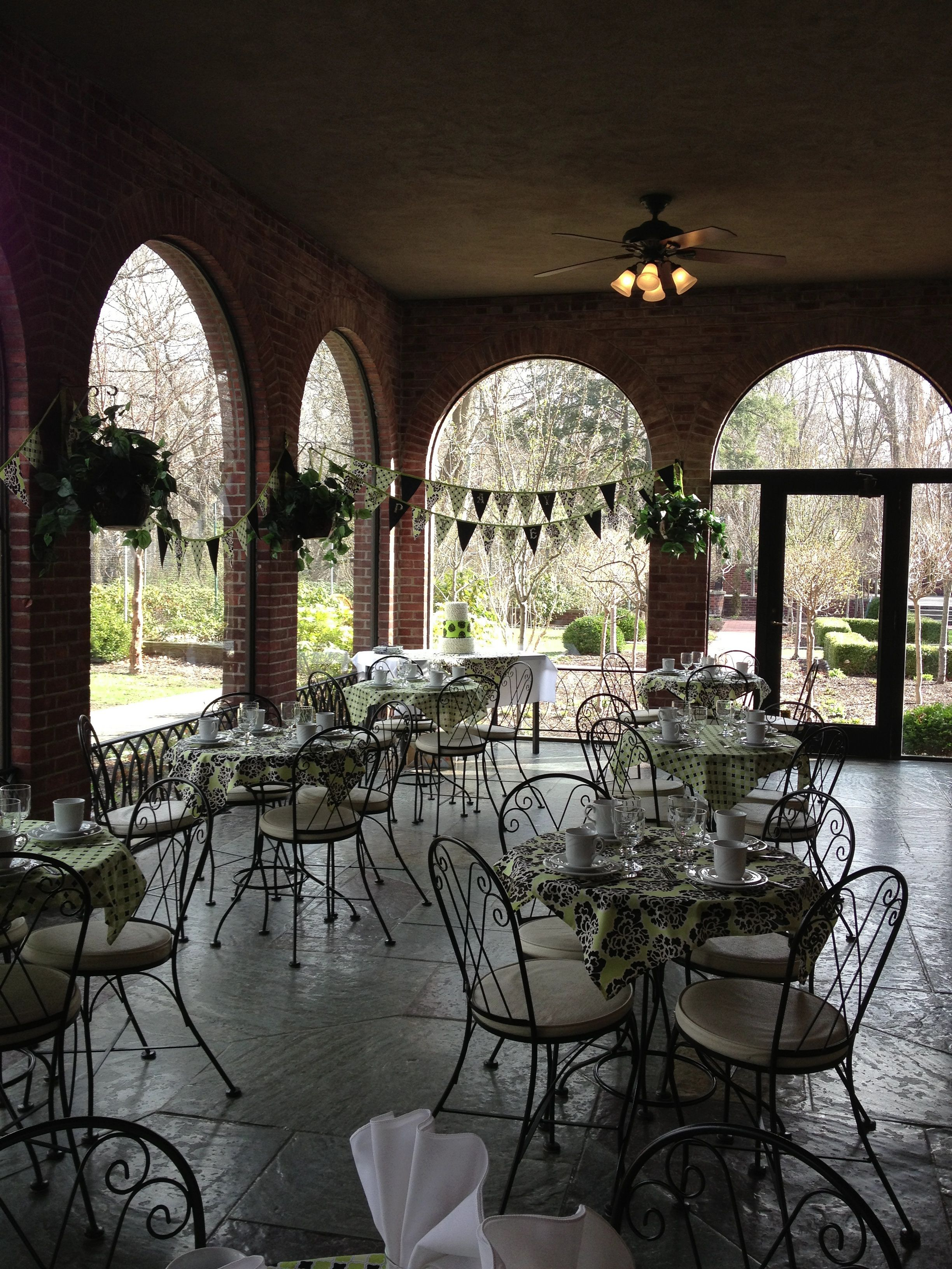 My sweet 16th birthday party at the manor house in toledo