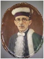 IZIDORO DE AZEVEDO RIBEIRO, 1934. Óleo sobre tela, 68 x 48 cm. Autora: Antonieta Santos Feio.