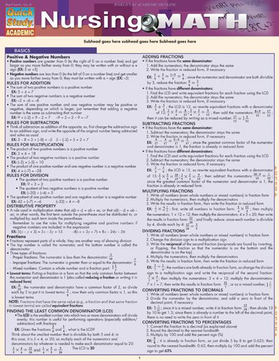 Nursing Math Conversion Chart Google Search