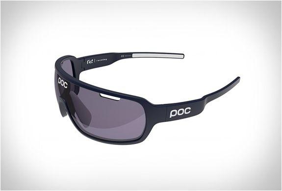 POC Do Blade Sunglasses Larsson Edition Seaborgium Blue//Hydrogen White