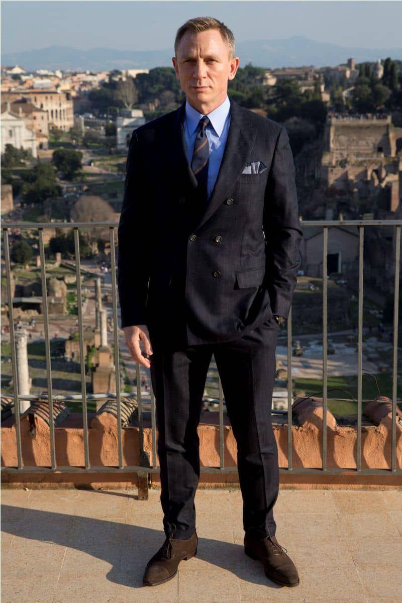 James Bond Double Breasted Suit | James Bond Suit | Pinterest ...