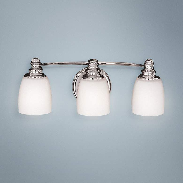 "Photo of Feiss Bentley 18 ""Wide Three Light Badezimmerleuchte – # 05256 