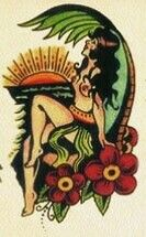 Sailor Jerry island pin up girl