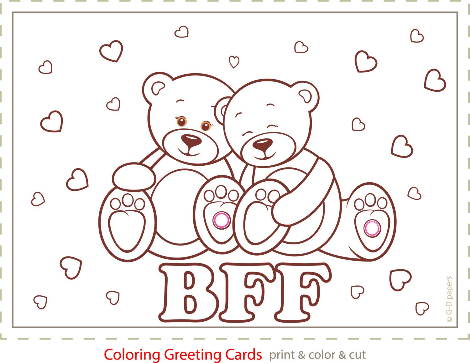 Colouring greeting cards love cards printable cards card to colouring greeting cards love cards printable cards card to print love cards kristyandbryce Image collections