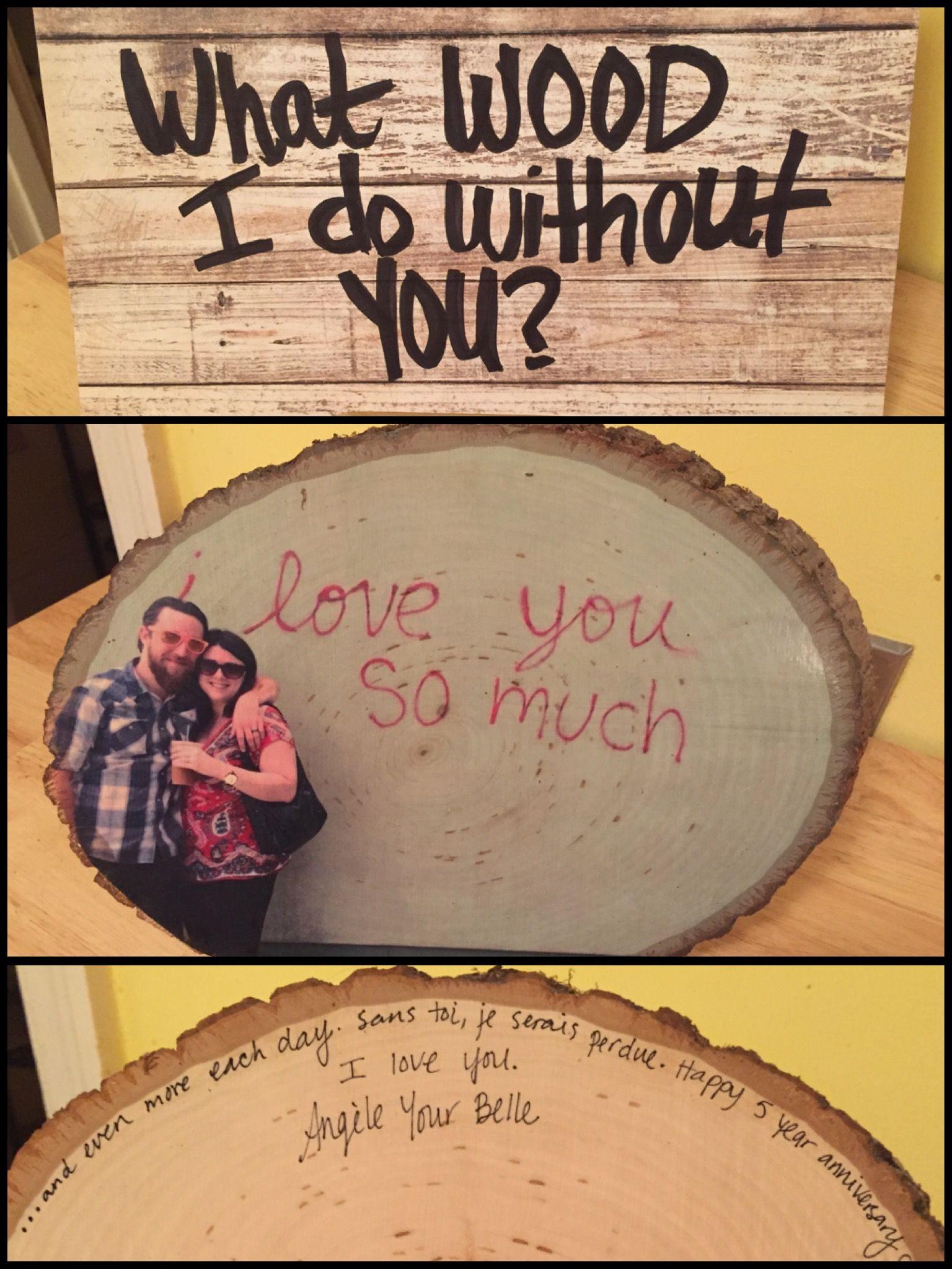 My 5 Year Wedding Anniversary Gift For Phil Theme Wood Wood Anniversary Gift Silver Anniversary Gifts Anniversary Gifts