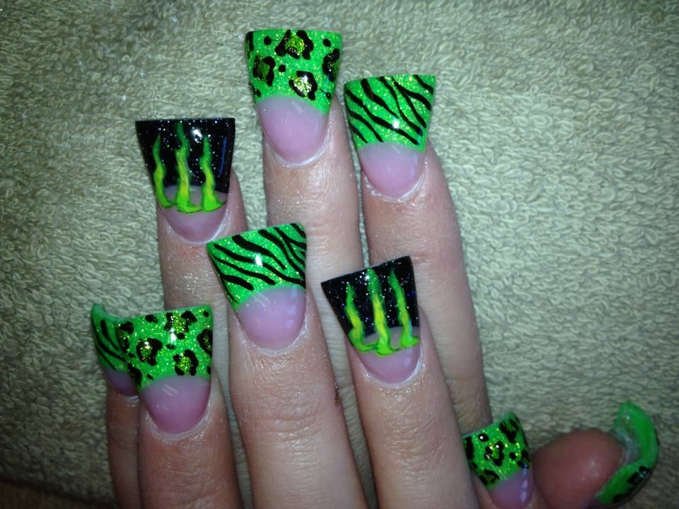 A must have Monster nails | Nails | Pinterest