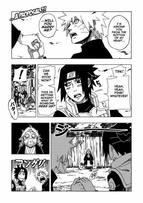 Naruto sasuke proposal sasunaru yaoi funny comic text naruto sasuke proposal sasunaru yaoi funny comic text voltagebd Images
