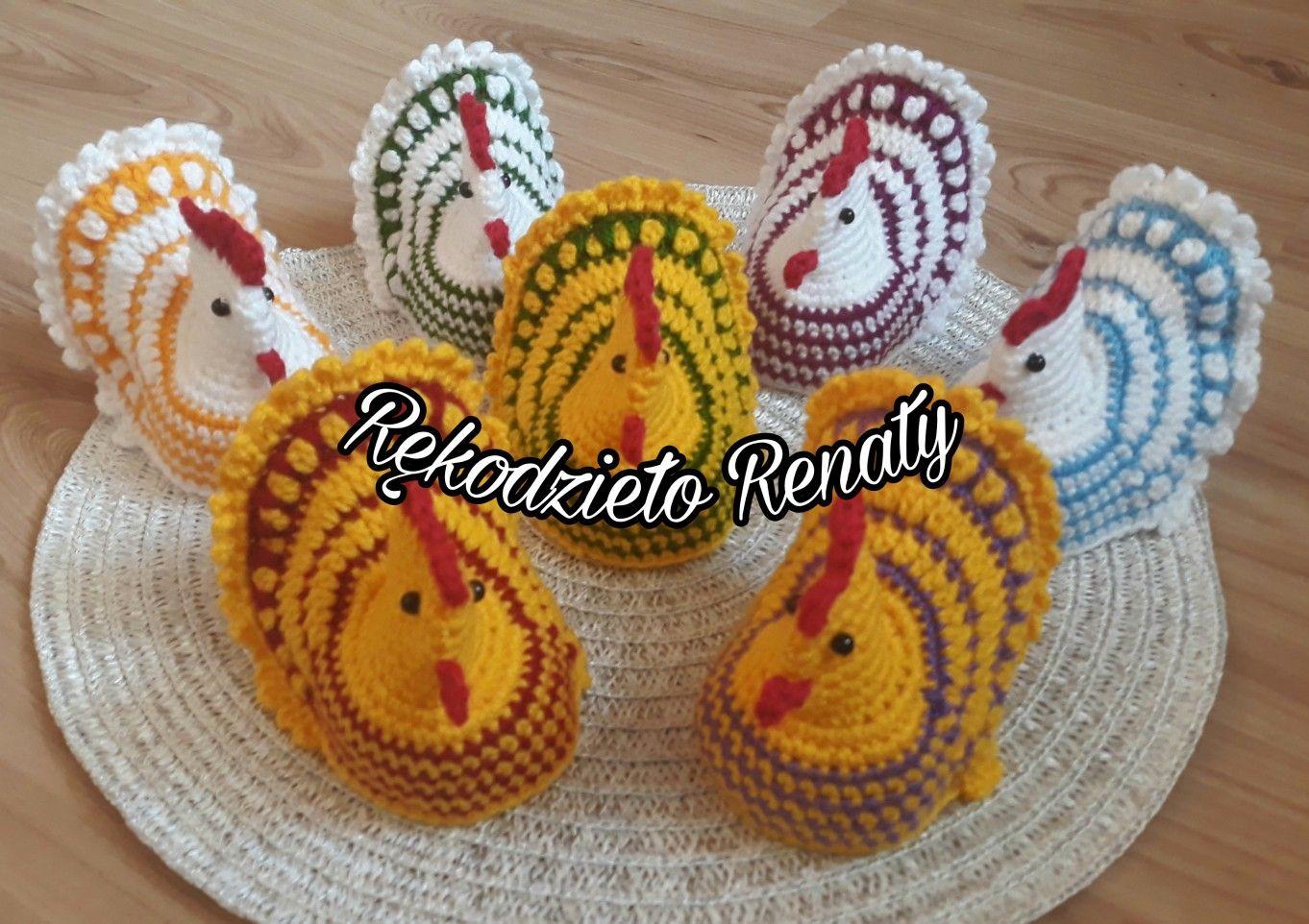 Pin By Rekodzielo Renaty On Moje Szydelkowanie Wielkanoc Crochet Earrings Crochet Earrings