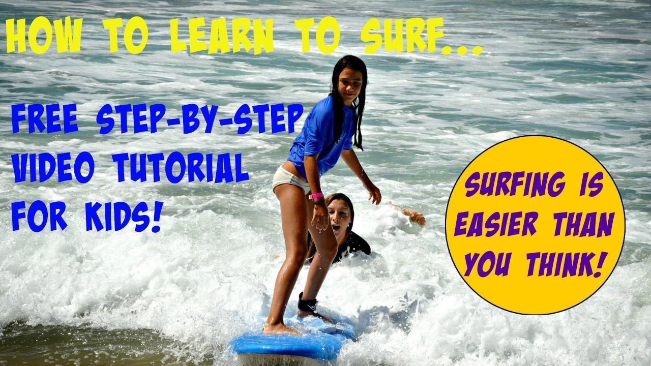 Learn to surf. Procure free online surfing video tutorials #sun.