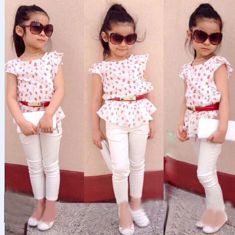 Online Cheap Trendy Baby Girl Clothes . Kids Pants