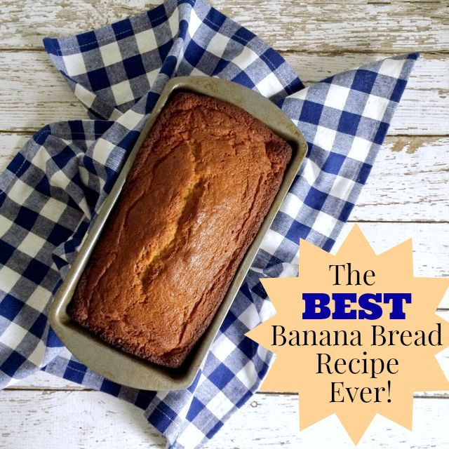 The best banana bread recipe ever! // SmashedPeasandCarrots.com