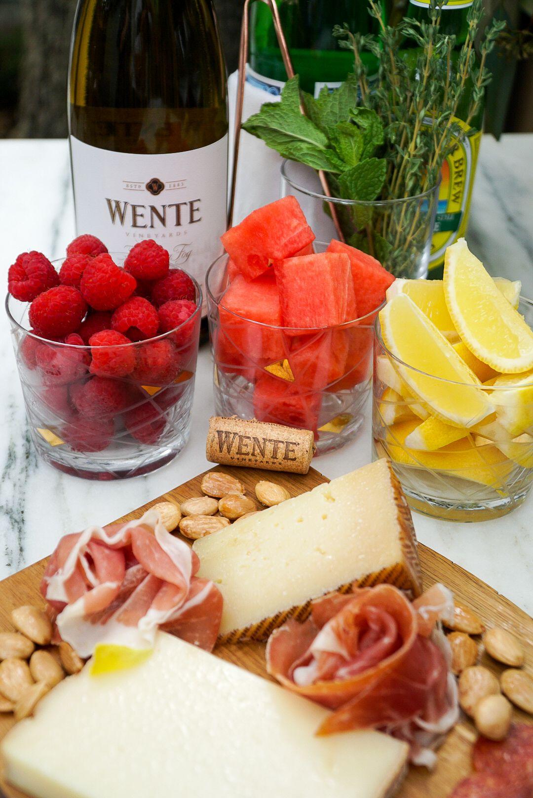 Setting Up The Perfect White Wine Spritzer Bar Couple In The Kitchen In 2020 Wine Spritzer White Wine Spritzer Spritzer Recipes