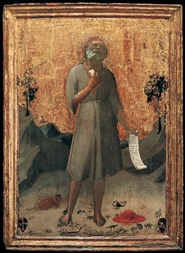 Penitent St. Jerome - by Fra Angelico Completion Date: c.1424