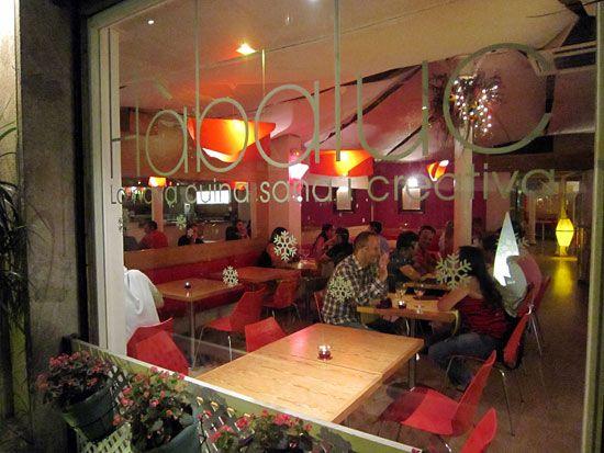 Habaluc • Restaurant d'inspiration scandinave, bio, végé à Barcelone