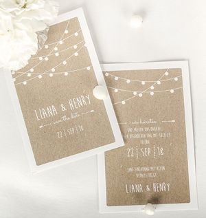 Why do you need Save the Date cards?  – Einladungen