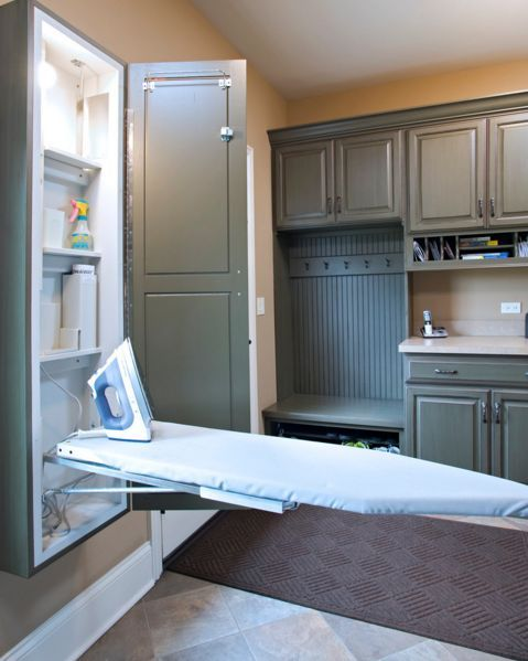 Photo of Ironing Board Cabinet Essentials and Styling
