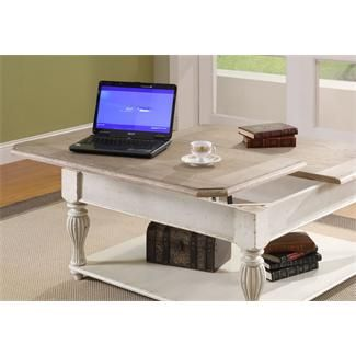 Coventry Lift Top Square Coffee Table I Riverside Furniture