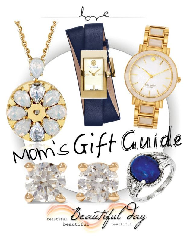 """""""Mom gets to choose """" by tornmer ❤ liked on Polyvore featuring Tory Burch, Kate Spade, Anita Ko and Kevin Jewelers"""
