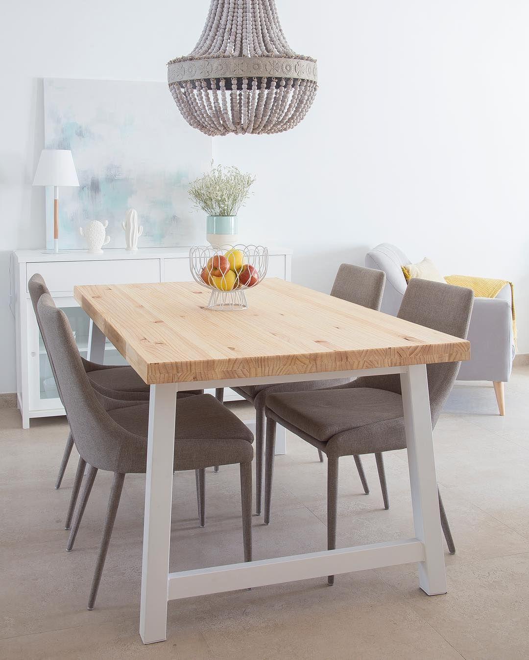 La mesa perfecta para una casa pequeña   Lunes, Mejores y Comedores