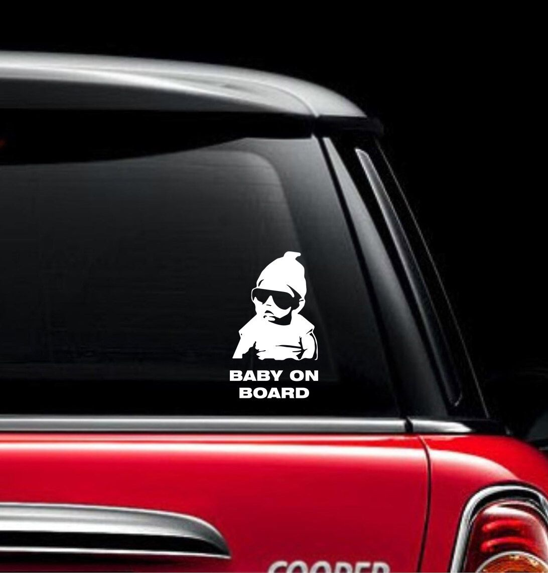 Baby On Board Decal Sticker X Custom Made Car Design By - Custom made car stickers