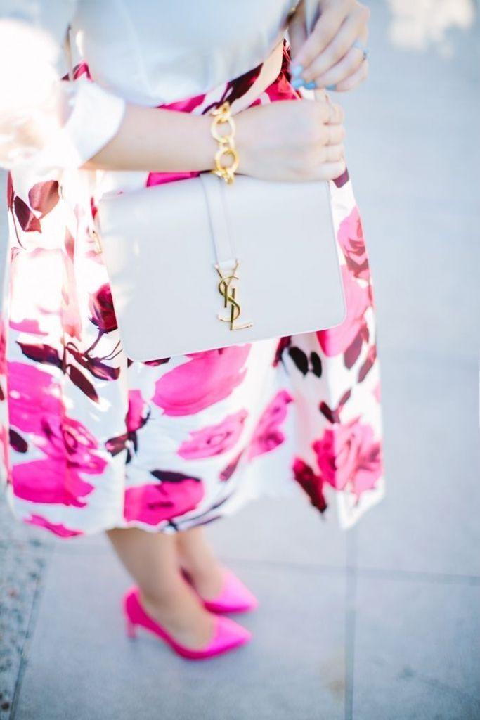 #street #style YSL pink @wachabuy