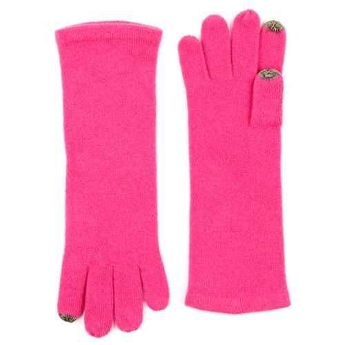 cashmere long echo touch glove #echo #cashmere #pink