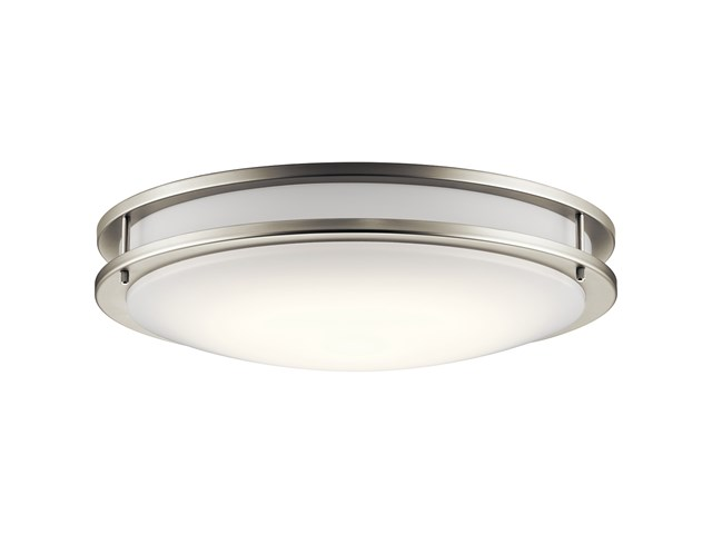 Avon 14 Led Flush Mount Brushed Nickel