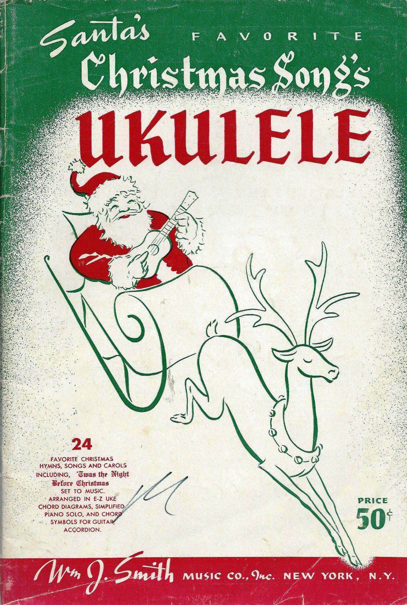 ukulele santas favorite christmas songs kamiki amazoncom books - Favorite Christmas Songs
