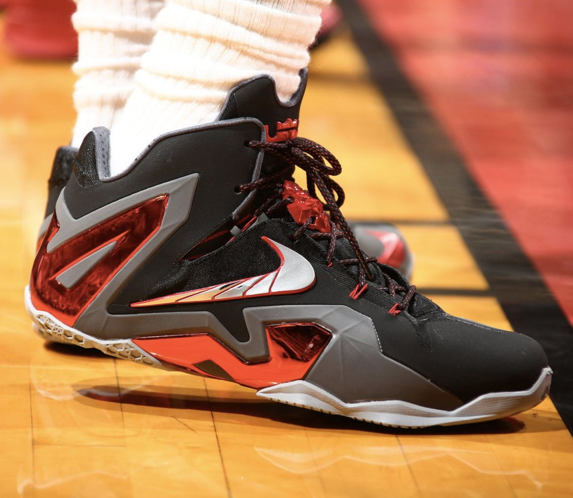 30ca526a7af  SoleWatch    LeBron James  Nike LeBron 11 Elite PE for Game 2  nike  lebron
