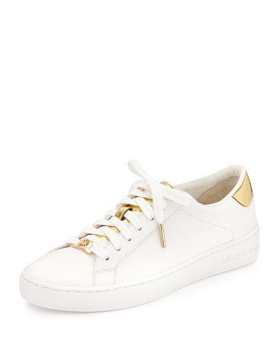 Designer Sneakers   Michael kors white