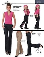 Jalie Women's and Girls' Stretch Jeans pattern (I want to sew my own jeans omg!)