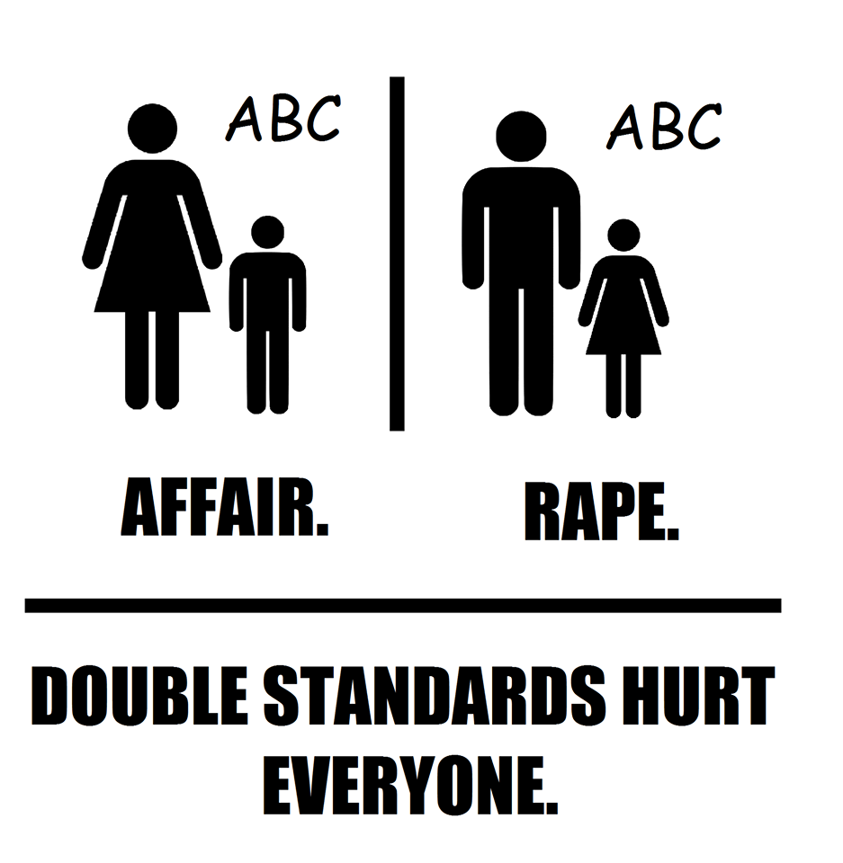 Double Standards Hurt Everyone.