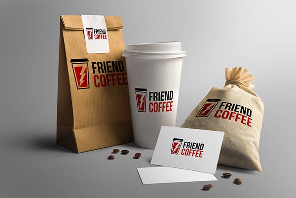 Download Logotip Dlya Firmy Po Prodazhe Kofe Coffee Logo Branding Mockups Coffee