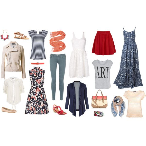 Paris in Summer Travel Capsule Wardrobe | pin, pack & go ...