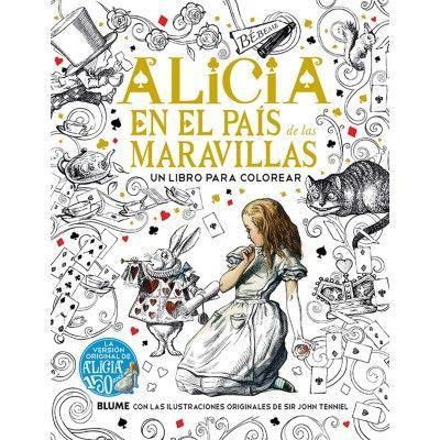 Alicia en el País de las Maravillas: Un libro para colorear | Alicia ...