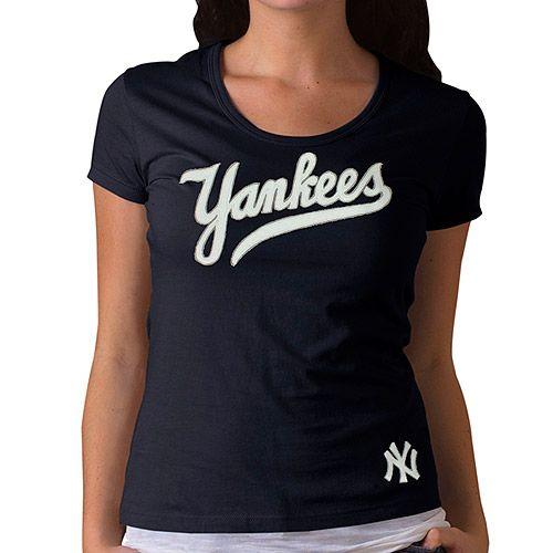 New York Yankees Women's Fieldhouse T-Shirt by '47 Brand - MLB.com Shop