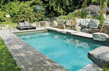 Fabulous Wo fr her ein naturnaher Schwimmteich mit einer gro en Vielfalt an Pflanzen den Garten zierte zeigt sich heute immer fter ein stylischer Natur Pool