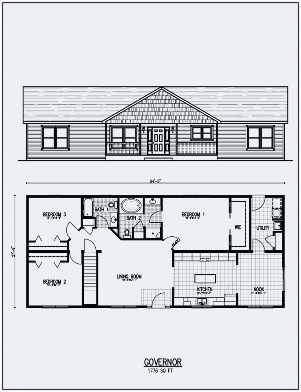 Lovely Ranch House Plans With Basement 3 Bedroom 55 Small Ranch House Plans With Basement 201 Floor Plans Ranch Ranch House Floor Plans Basement House Plans