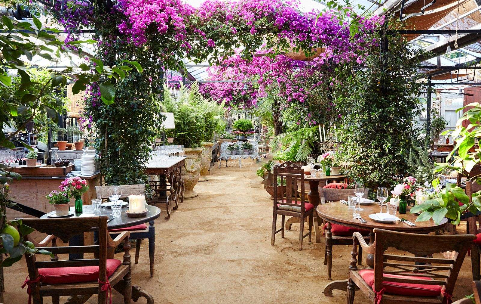 7 London restaurants with beautiful gardens Interior