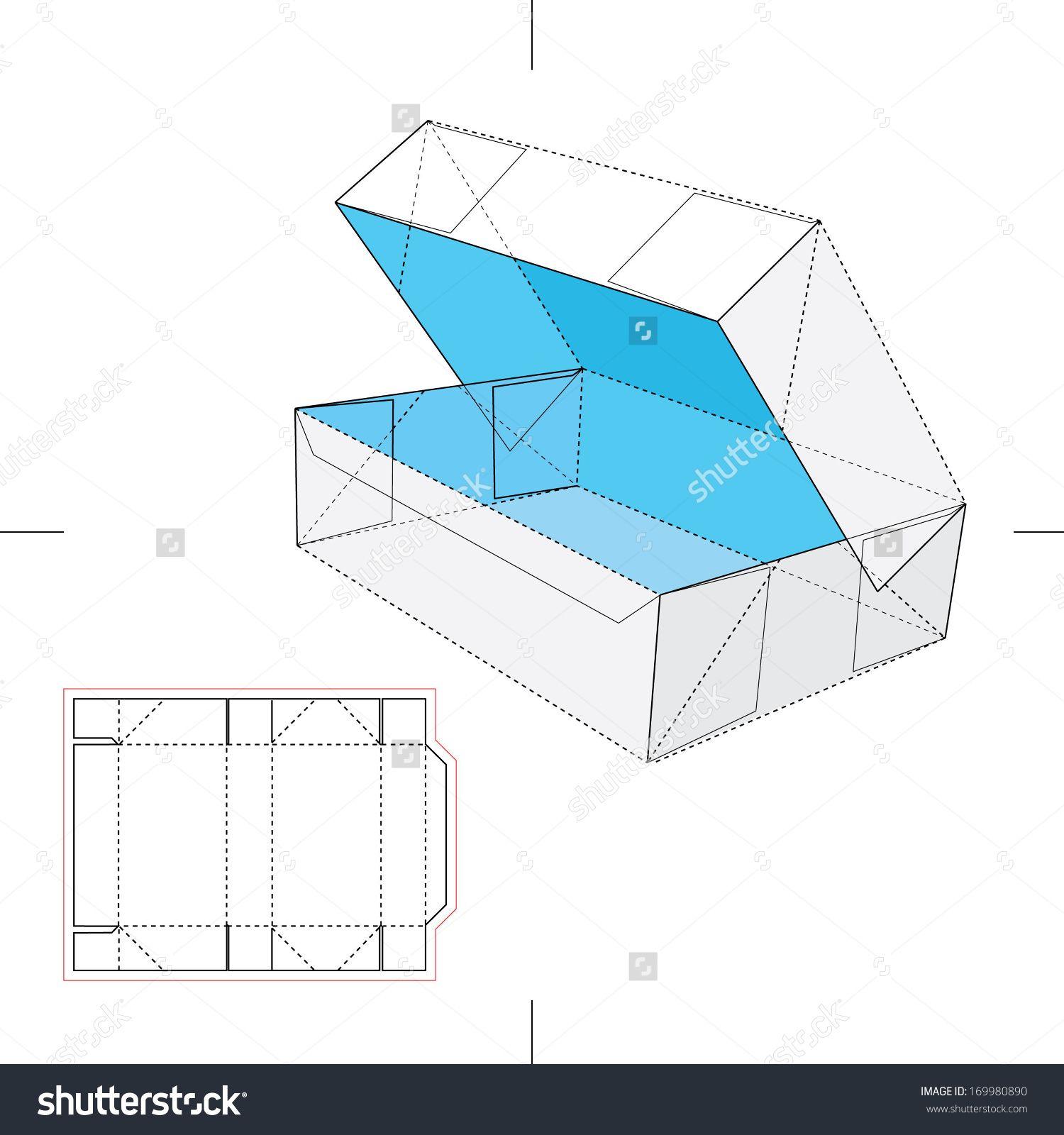 Blueprint box with blueprint layout stock vector illustration blueprint box with blueprint layout malvernweather Image collections