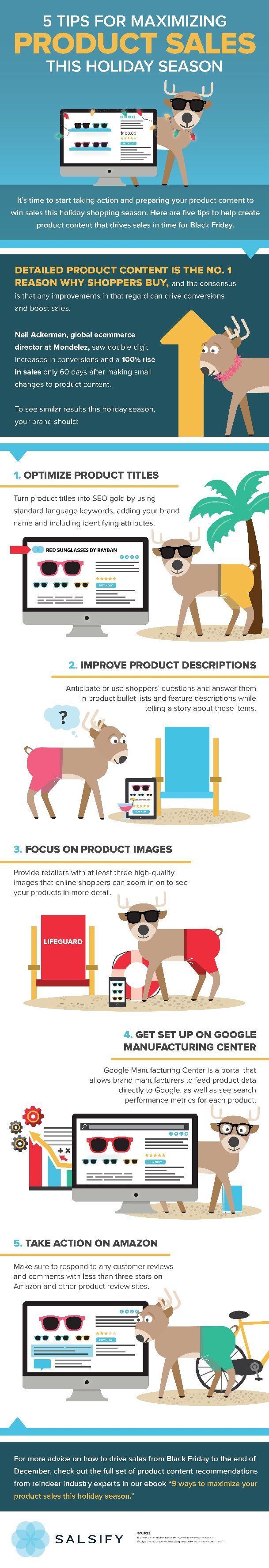 5 Tips for Maximizing Product Sales This Holiday Season