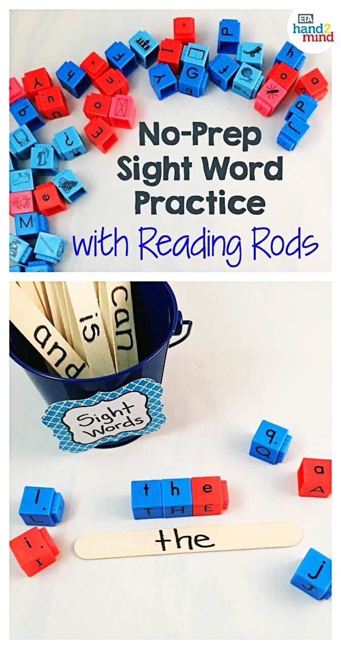 Alphabet And Phonemic Awareness Linking Cubes For Early Hand2Mind Reading Rods