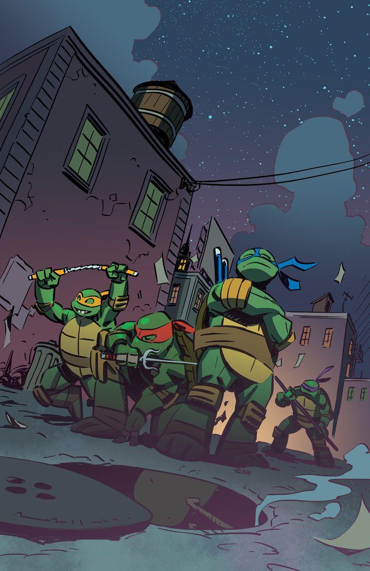 Teenage Ninja Mutant Turtles By Roboworks