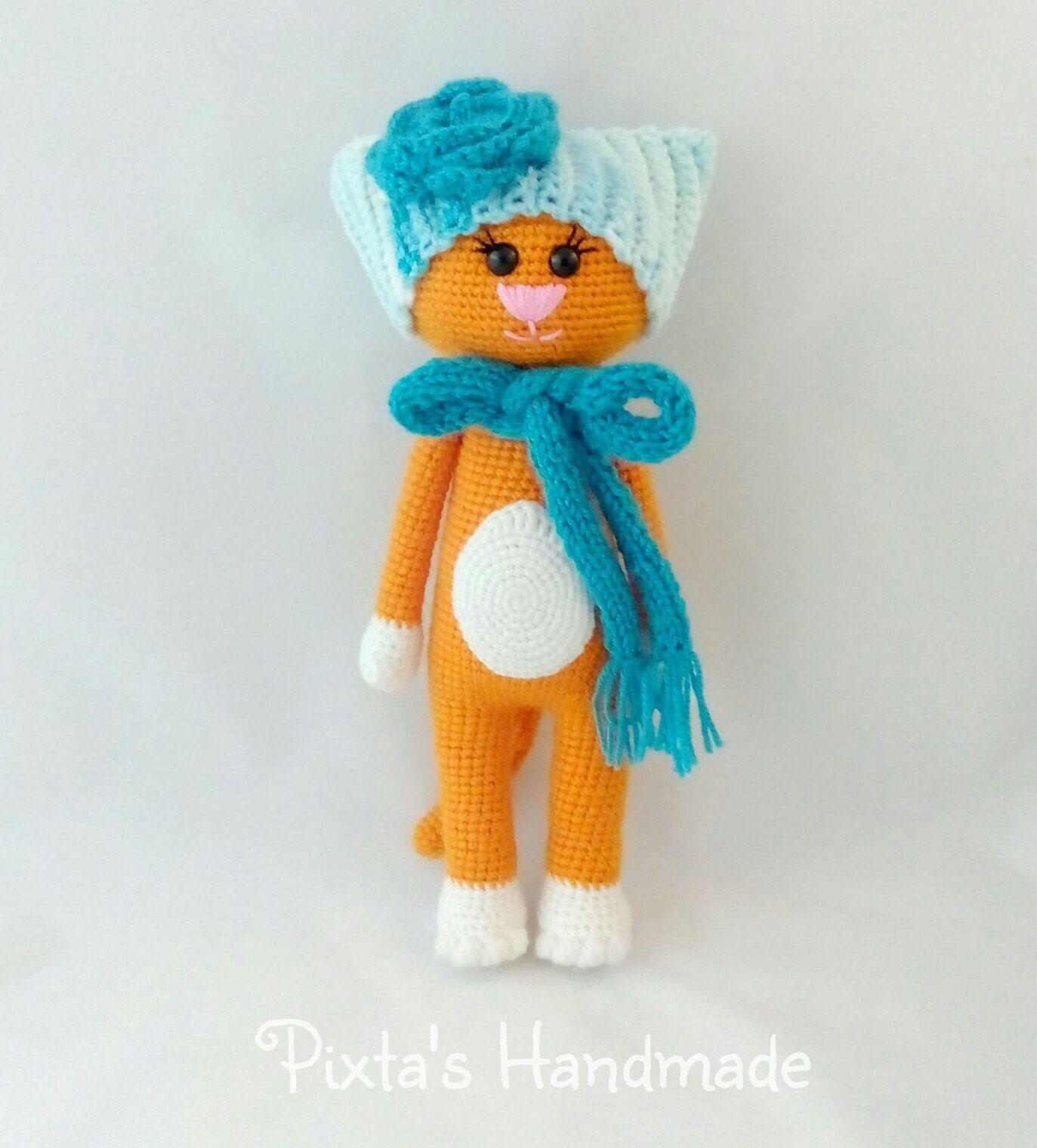 knitted cat amigurumi crochet scheme   Tejidos   Ganchillo, Croché y ...