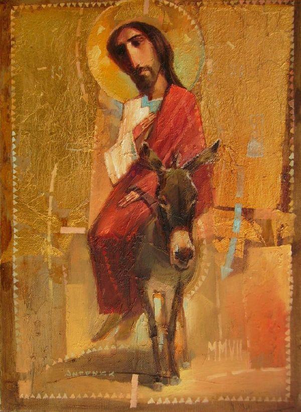 Oleksandr Antonyuk Triumphal into Jerusalem